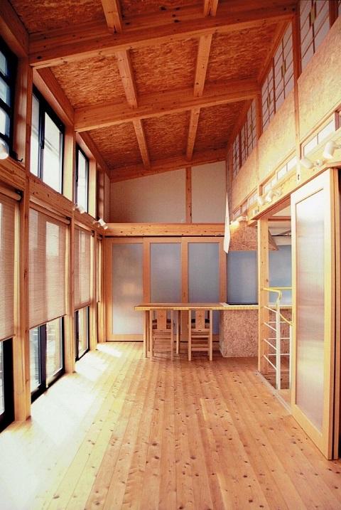 光と風をたのしむ一体空間の設計